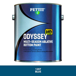Pettit Odyssey HD Ablative Blue Bottom Paint