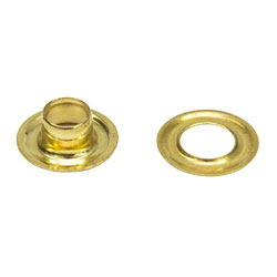 SeaChoice Brass Grommet with Washer