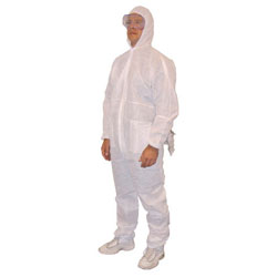 Western Pacific Trading Pro1000 Full Hood Disposable Coveralls