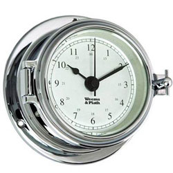 Weems & Plath Endurance II 105 Chrome Quartz Clock