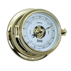 Weems & Plath Endurance II 115 Brass Open Dial Barometer
