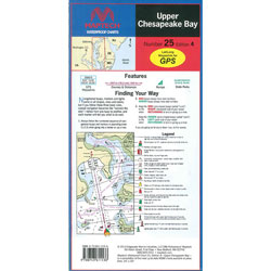 Maptech Folding Waterproof Chart - Number 25, Edition 4