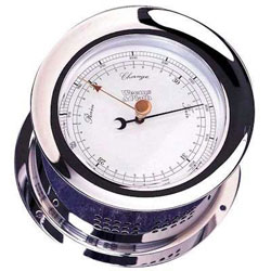 Weems & Plath Atlantis Barometer - Chrome Plated