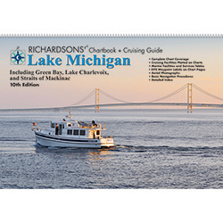 Maptech LM10 Waterproof Chartbook & Cruising Guide - Lake Michigan