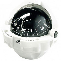 Plastimo Offshore 105 Compass - Steering Con Flush Mount - Conical Card