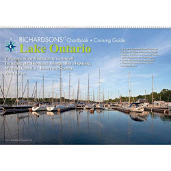 Maptech LO7 Waterproof Chartbook & Cruising Guide - Lake Ontario