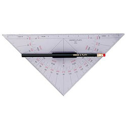 Weems & Plath Nautical Protractor With Handle