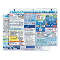 Davis Instruments Boating Quick Reference Card