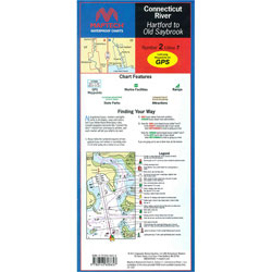 Maptech Folding Waterproof Chart - Connecticut River