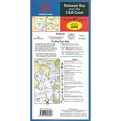 Maptech Folding Waterproof Chart - Number 47, Edition 2