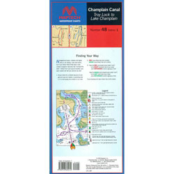 Maptech Folding Waterproof Chart - Number 48, Edition 1