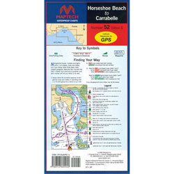 Maptech Folding Waterproof Chart - Horseshoe Beach to Carrabelle