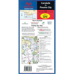 Maptech Folding Waterproof Chart - Carrabelle to Panama City