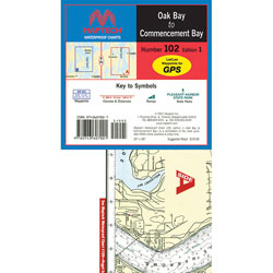 Maptech Folding Waterproof Chart - Number 102, Edition 1