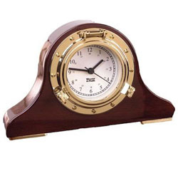 Weems & Plath Porthole Tambour Clock