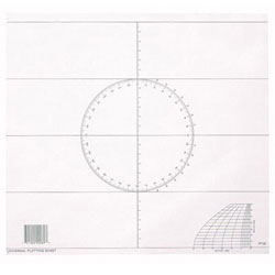 Weems & Plath Universal Plotting Sheets