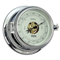 Weems & Plath Endurance II 115 Chrome Barometer