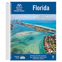 Maptech CGFL-08 Embassy Cruising Guide: Florida and the Bahamas - 8th Edition