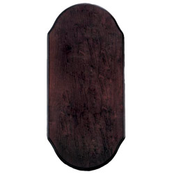 Weems & Plath Large Mahogany Plaque