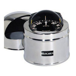 Ritchie Globemaster D-615-P Compass - 12 Volt DC 2 Degree with Points (G-2-P)