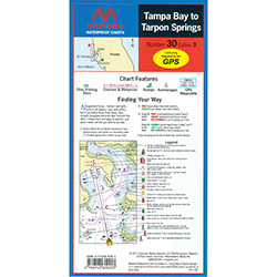 Maptech Folding Waterproof Chart - Number 30, Edition 3