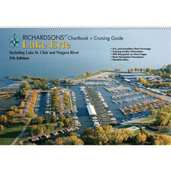 Richardsons' LE7 Great Lake Chartbook and Cruising Guide - Lake Erie