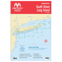 Maptech Waterproof Chartbook - South Shore Long Island, NY