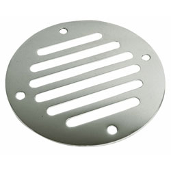 Sea-Dog Flat Round Louvered Vent / Drain Cover