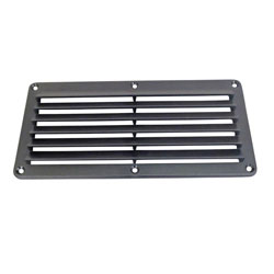 Sea-Dog Louvered Vent Black 337400