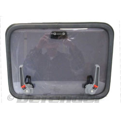 Lewmar Low Profile Series Replacement Hatch Lens with Handles and Seal