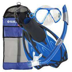US Divers Yucatan Adult  Snorkel Combo Set