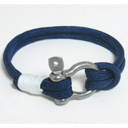 Mystic Knot Paracord Sailboat Shackle Bracelet