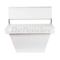 Defender Aluminum Bench Seat & Folding Backrest