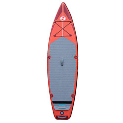 Solstice Inflatable Touring Paddleboard with Paddle (iSUP) - 10 Foot