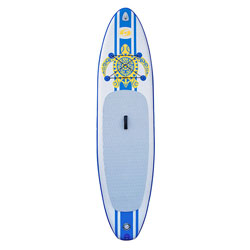 "Solstice Inflatable Defender Paddleboard Kit (iSUP) 10' 8"" - Blue"