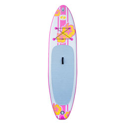 "Solstice Inflatable Defender Paddleboard Kit (iSUP) 10' 8"" - Pink"