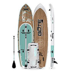 Bote Rackham Aero iSUP Kit Classic Paddleboard - Display Model