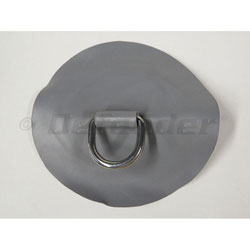Inflatable Boat D-Ring Pair, Gray