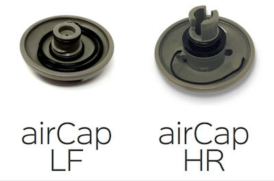 airCap LF and airCap HR