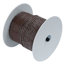 Ancor Marine Grade Primary Wire - 16 AWG Brown 25 ft
