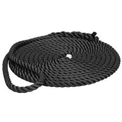 Buccaneer 3-Strand Twisted Nylon Dock Line, 5/8