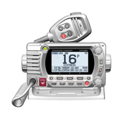 Standard Horizon Explorer GX1800 Fixed-Mount VHF Radio w/NMEA 0183, GPS-White