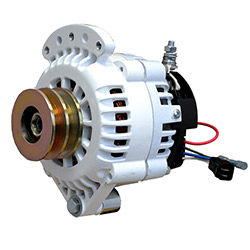 Balmar 6-Series Light Duty Marine Alternator - 70 Amp - Single Foot