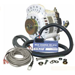Balmar 6-Series Alternator Kit - 100 Amp Single Foot - 12 VDC, ARS-5 Regulator