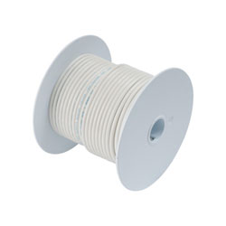 Ancor Marine Grade Primary Wire - 10 AWG White 100 ft