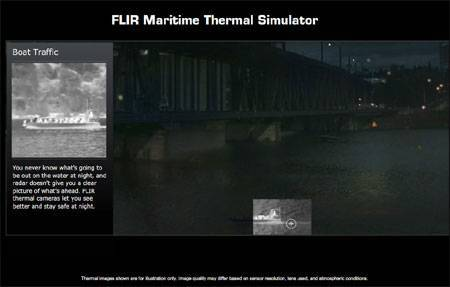 Flir Maritime Thermal Simulator