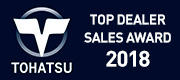 Tohatsu Outboard Motors - Top Dealer Sales Award 2018