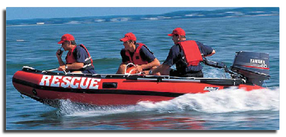 Inflatable Rescue Boats And Accessories From Defender