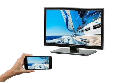 TV with smartphone