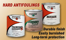 Pettit Trinidad and Unepoxy Hard Antifouling Paint